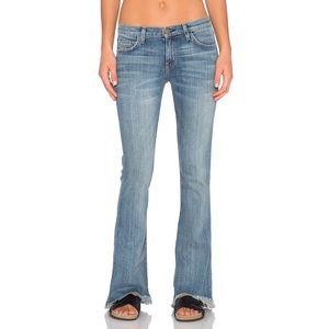 Current/Elliot The Flip Flop Jean Flared Frayed 24